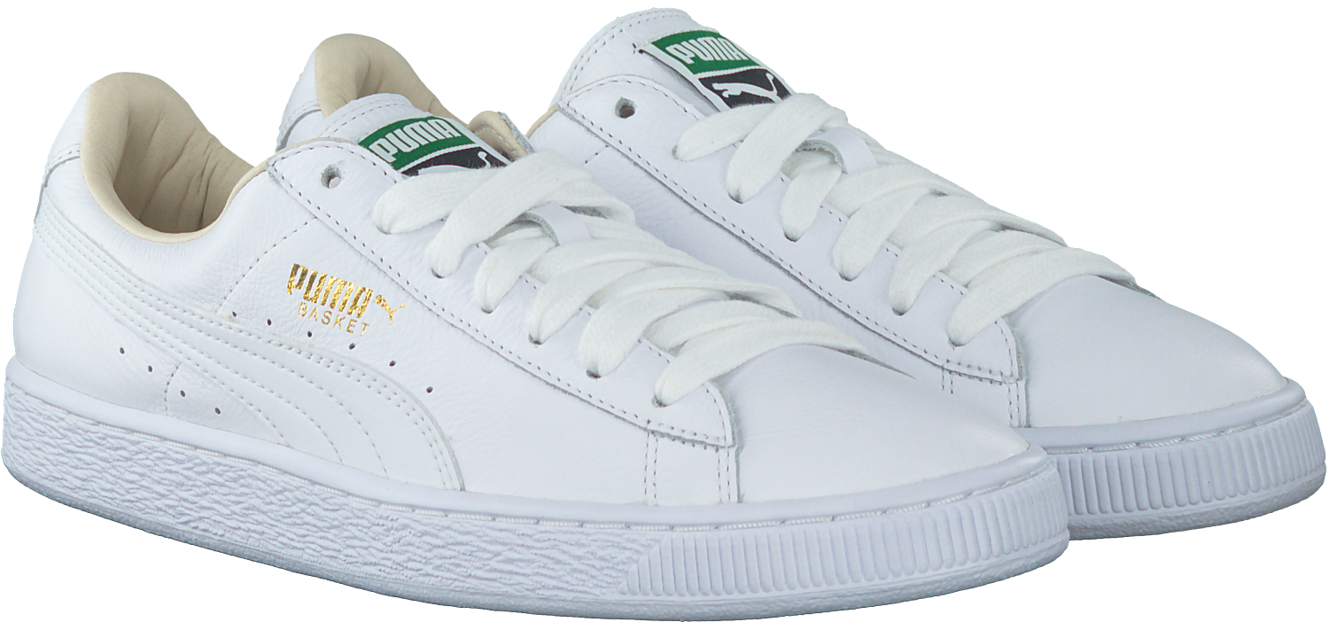 White PUMA Sneakers BASKET CLASSIC MEN - Omoda.com