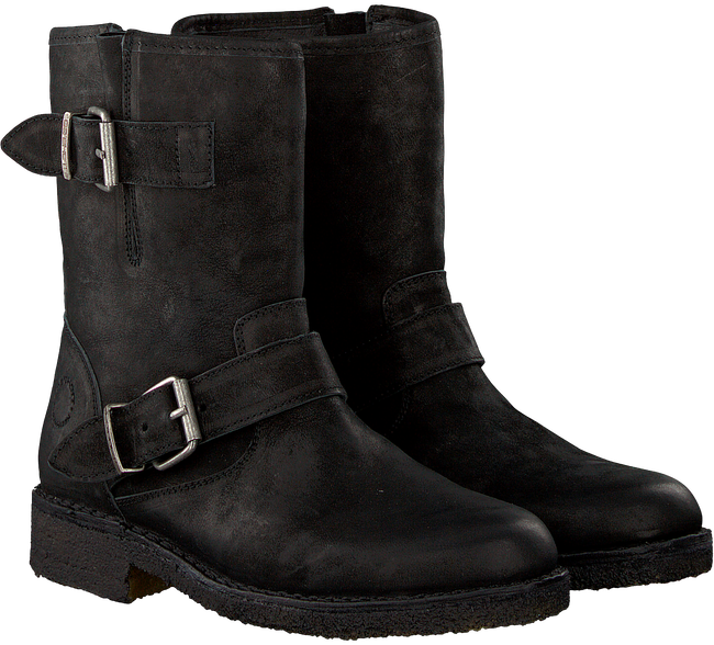 Black CA'SHOTT Biker boots 10253 - large