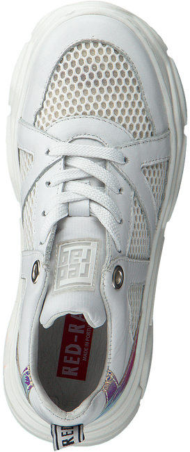White RED-RAG Low sneakers 13264  - large
