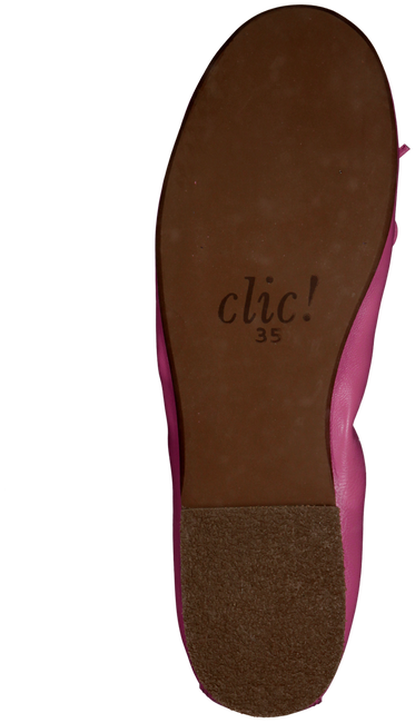 Pink CLIC! Ballet pumps CL8153 - large