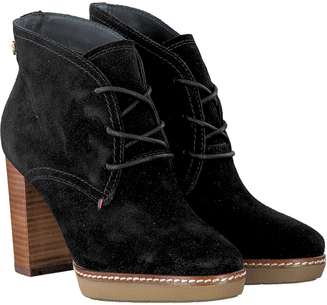Black TOMMY HILFIGER Booties JENINA 1B - large