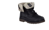 Black PALLADIUM Ankle boots BAGGY LEATHER ZIP KIDS - small