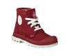 Red PALLADIUM Ankle boots PAMPA HI LACE K - small