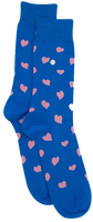 Blue Alfredo Gonzales Socks HEARTS  - medium