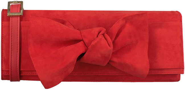 Red PETER KAISER Clutch LORETTE - large