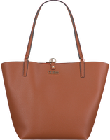 Cognac GUESS Handbag ALBY TOGGLE TOTE  - medium