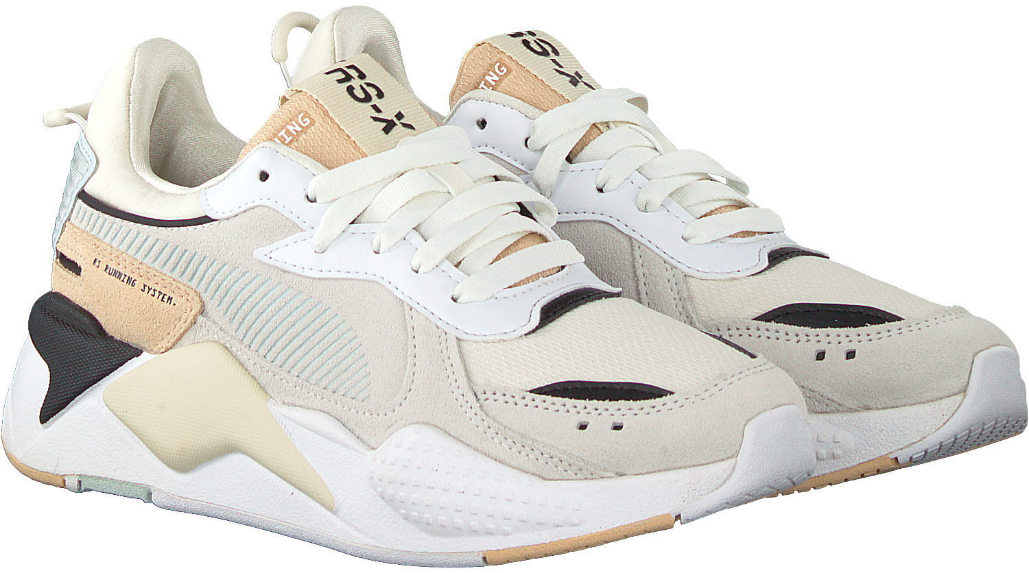 White PUMA Low sneakers RS-X REINVENT WN'S - Omoda.com