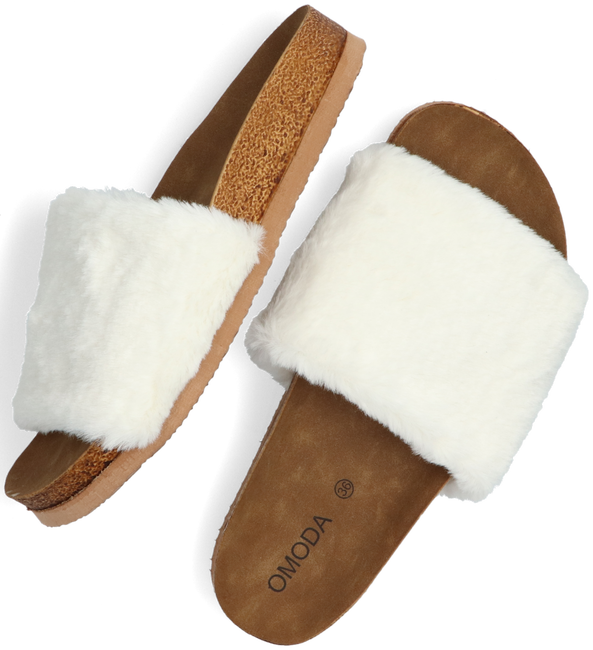 Beige OMODA Slippers LUCY  - large