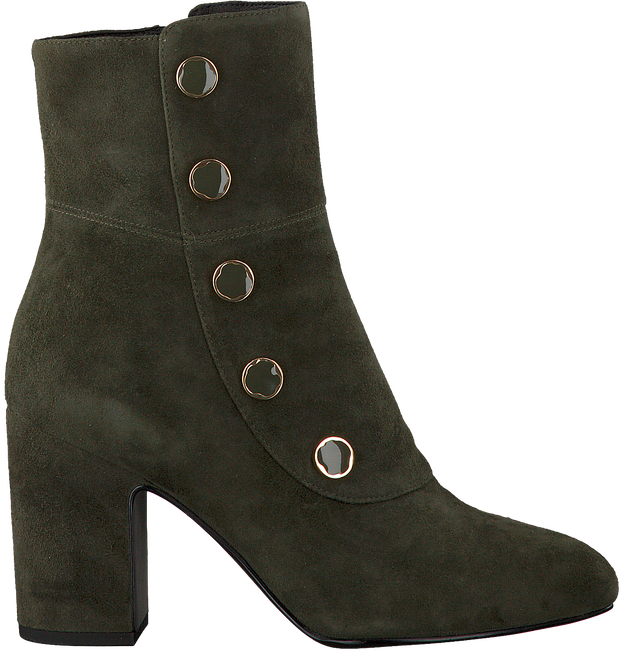 Green WHAT FOR Booties MANU KID SUEDE - large
