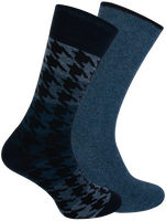 Blue MARCMARCS Socks CHRIS COTTON 2-PACK  - medium