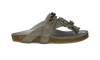 Taupe CLIC! Flip flops 2163 - small