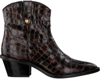 Brown FABIENNE CHAPOT Booties HOLLY ZIPPER BOOT  - medium