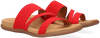 Red GABOR Flip flops 702 - small