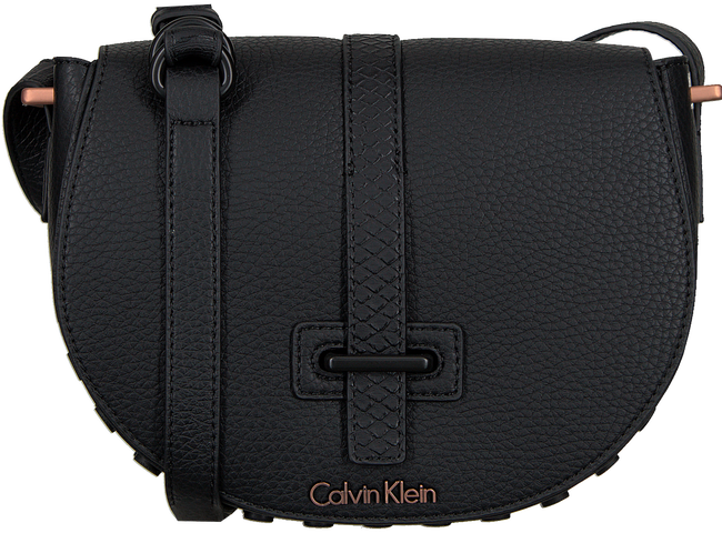 Black CALVIN KLEIN Shoulder bag POPPY SADDLE BAG - large