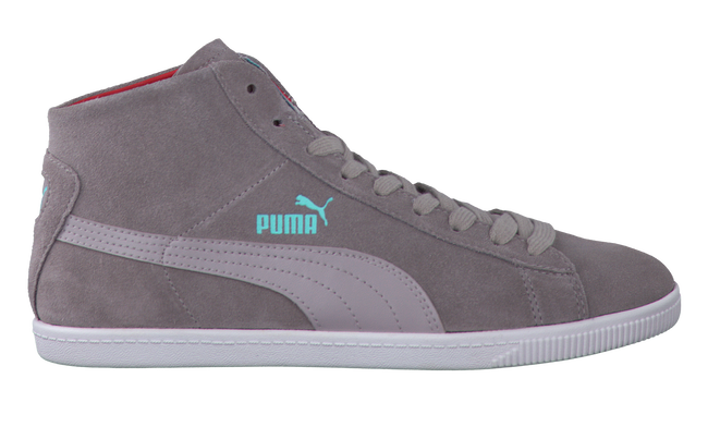 Grey PUMA Sneakers 354049 KIDS - large