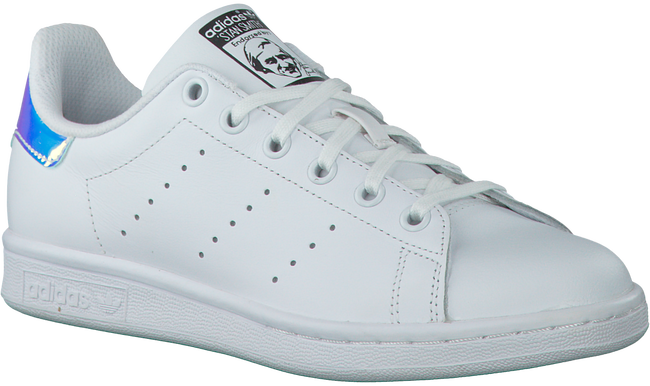White ADIDAS Sneakers STAN SMITH KIDS - large