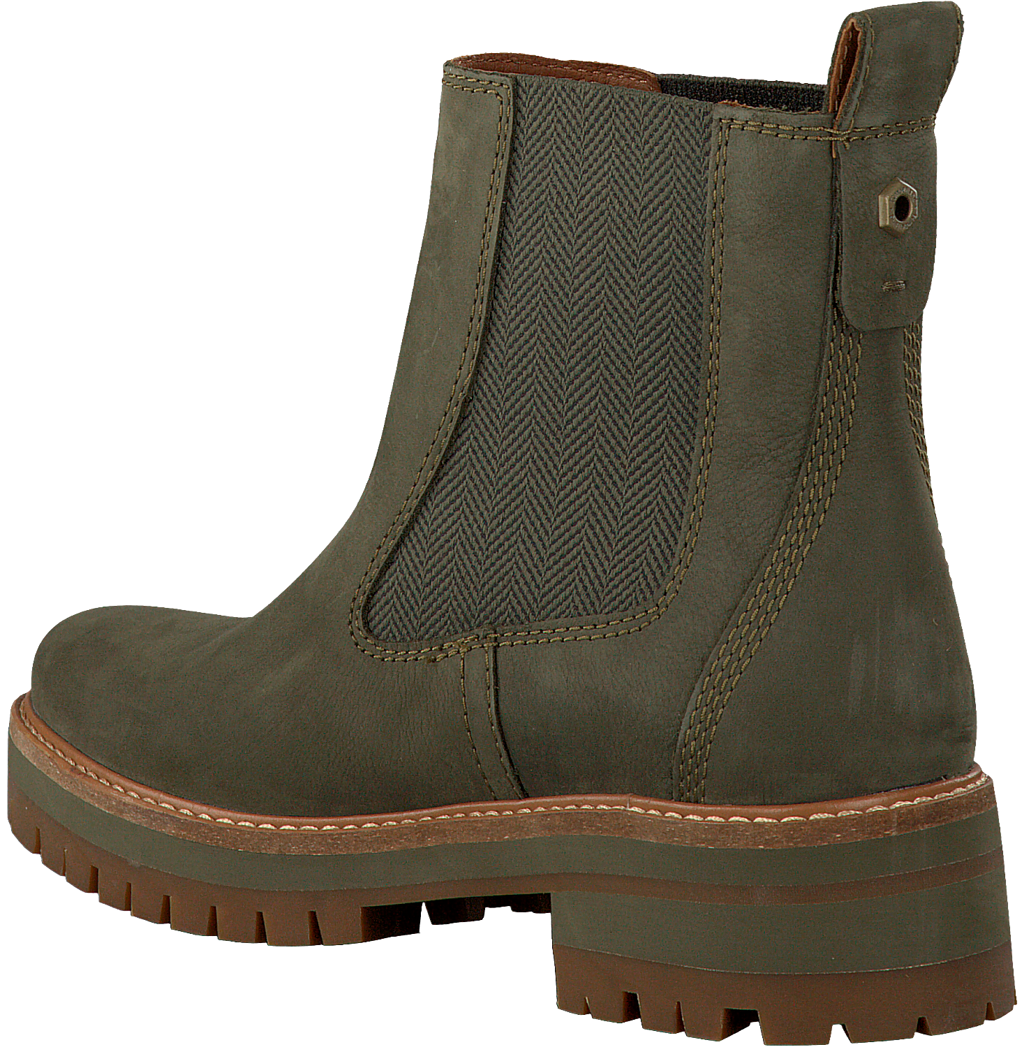 acbae5a45 Green TIMBERLAND Chelsea boots COURMAYEUR VALLEY CH - Omoda.com