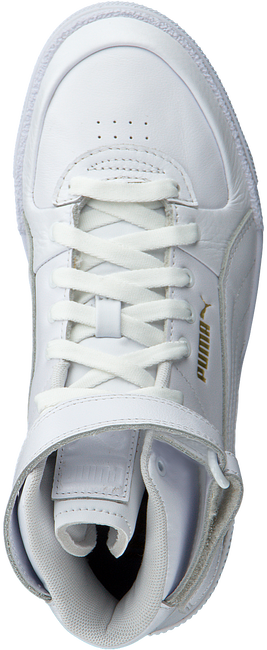 White PUMA High sneakers CALI SPORT TOP WARM UP WN'S  - large