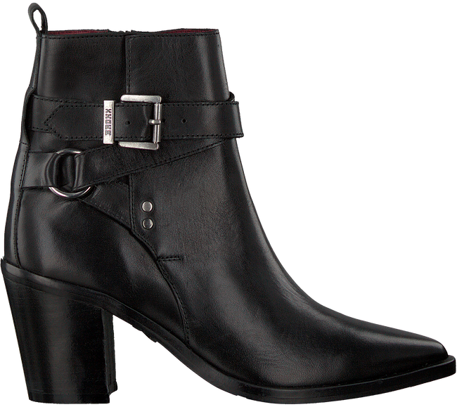 Black BRONX Booties NEW-AMERICANA 34166  - large