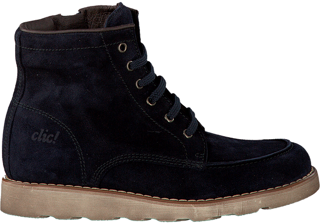 Blue CLIC! Ankle boots 9248 - large