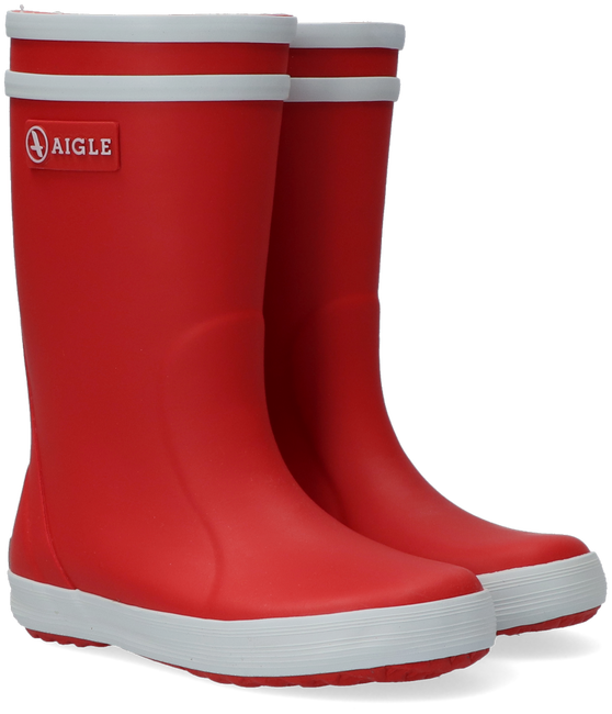 Red AIGLE Rain boots LOLLYPOP  - large