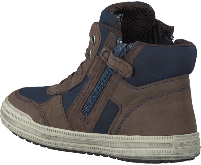 Brown GEOX Sneakers J64A4B - large