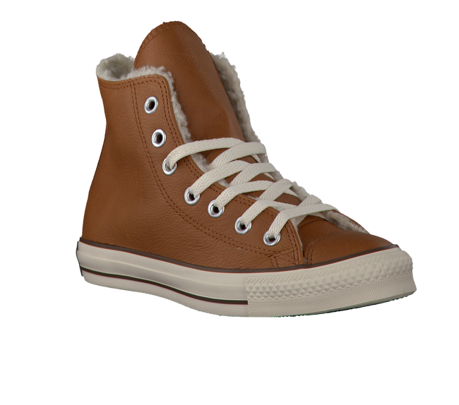 Cognac CONVERSE Sneakers AS HI DAMES - large
