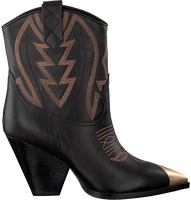 Black LOLA CRUZ Cowboy boots 292T10BK-D-I19  - medium