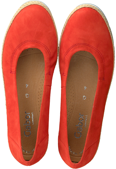 Red GABOR Slip-on shoes 400.1  - large
