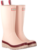 Pink HUNTER Rain boots WOMENS PLAY TALL SPECKLE SOLE  - small