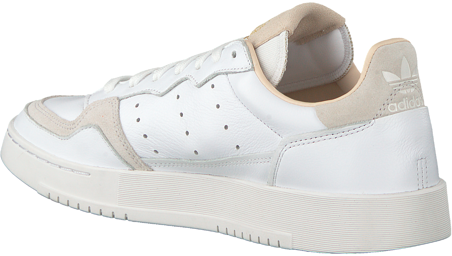 White ADIDAS Sneakers SUPERCOURT - Omoda.com