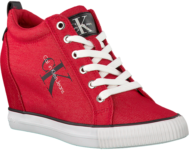 Red CALVIN KLEIN Sneakers RITZY - large