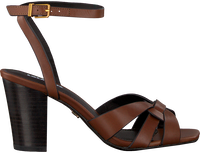 Cognac LOLA CRUZ Sandals 406Z10BK  - medium