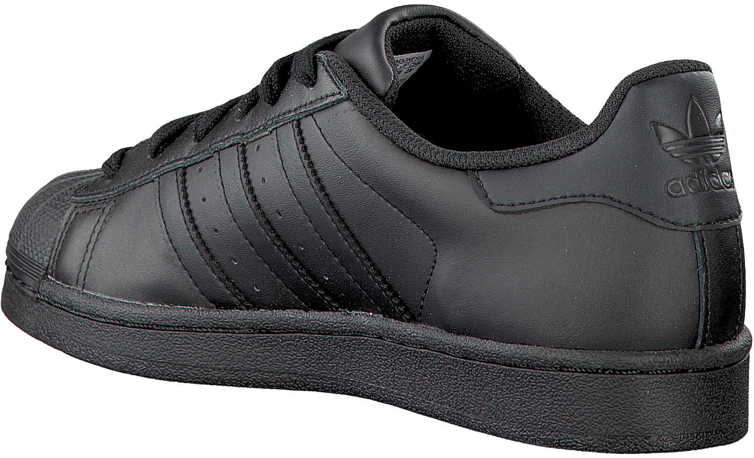 Black ADIDAS Sneakers SUPERSTAR DAMES - Omoda.com