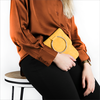 Yellow UNISA Shoulder bag ZBIN - small