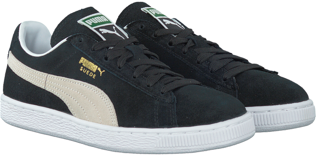 Black PUMA Sneakers SUEDE CLASSIC+ DAMES - large
