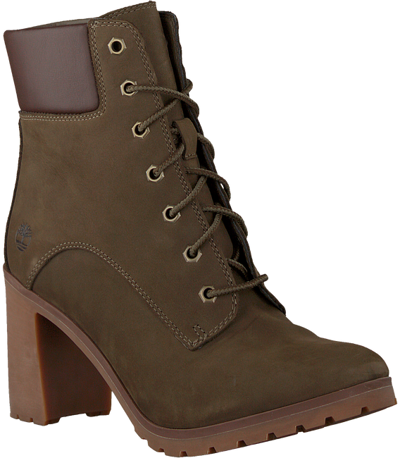 Green TIMBERLAND Classic ankle boots ALLINGTON 6IN LACE - large