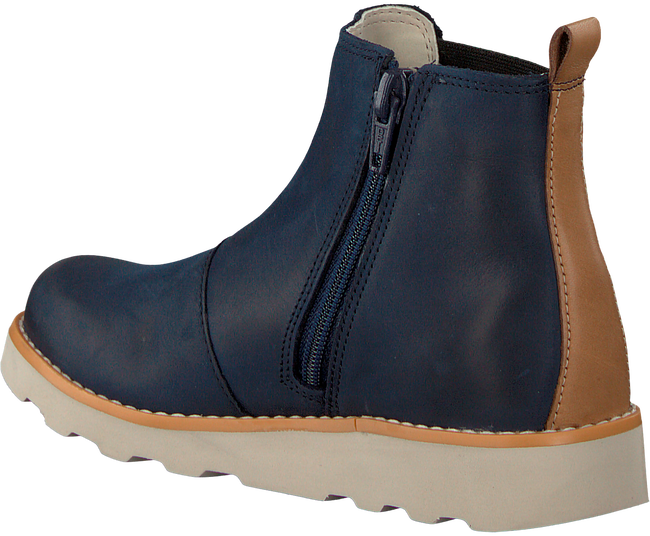 Blue CLARKS Classic ankle boots CROWN HALO - large