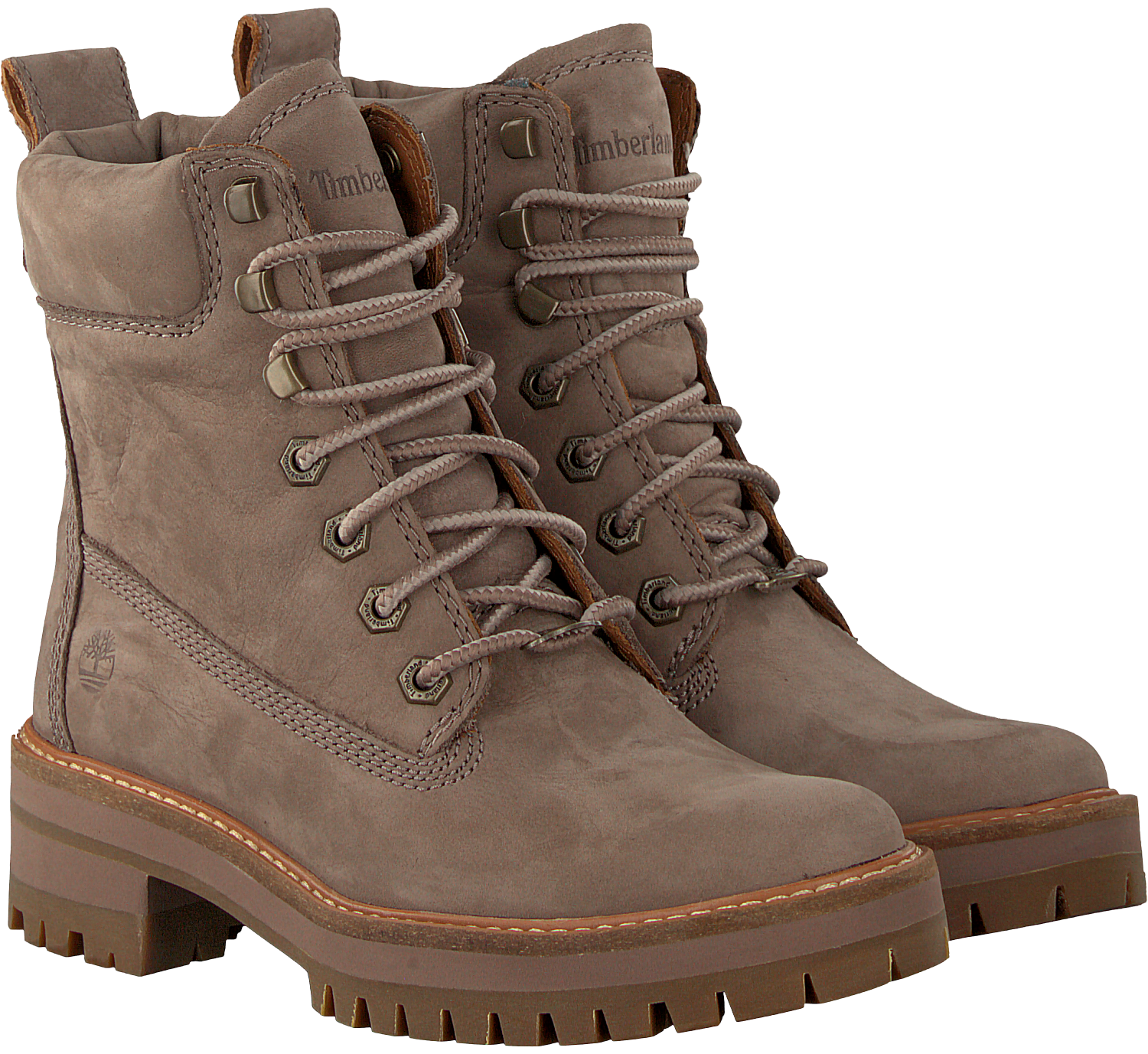 39dc129cea0 Taupe TIMBERLAND Lace-up boots COURMAYEUR VALLEY BOOT. TIMBERLAND