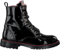 Black RED-RAG Lace-up boots 12084  - medium