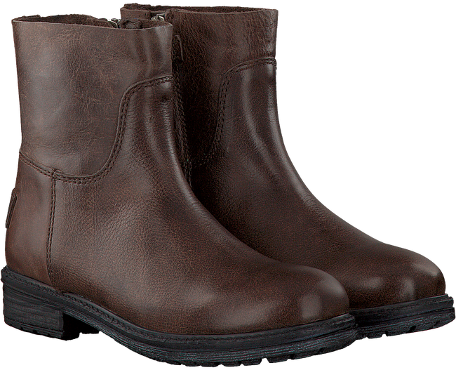 Brown SHABBIES Booties 172-0062SH - large