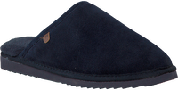 Blue WARMBAT Slippers CLASSIC UNISEX SUEDE - medium