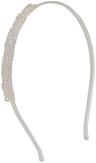 White LE BIG Headband IONA HEADBAND - large