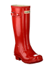 Red HUNTER Rain boots ORIGINAL KIDS GLOSS - small