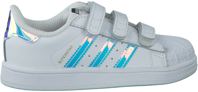 White ADIDAS Sneakers SUPERSTAR KIDS - large