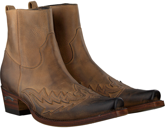 Brown SENDRA Ankle boots 11783 - large