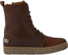 Cognac SHABBIES Lace-up boots 182-0207 - small