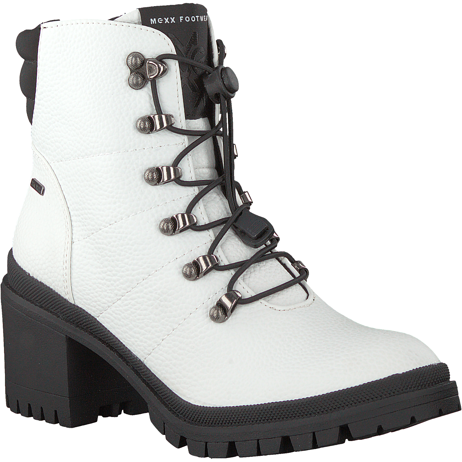 White MEXX Lace up boots DAMI