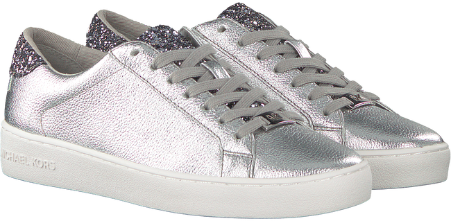 Silver MICHAEL KORS Sneakers IRVING LACE UP - large