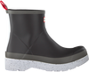 Blue HUNTER Rain boots MENS PLAY SHORT SPECKLE SOLE W  - small